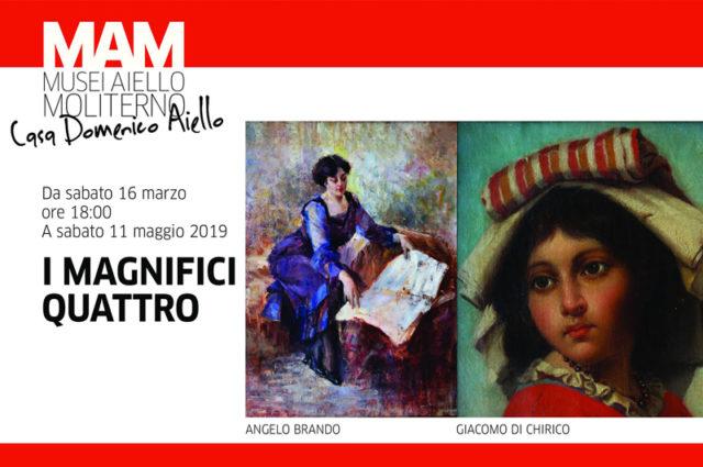"""Moliterno: inaugurazione della mostra """"I Magnifici Quattro"""""""