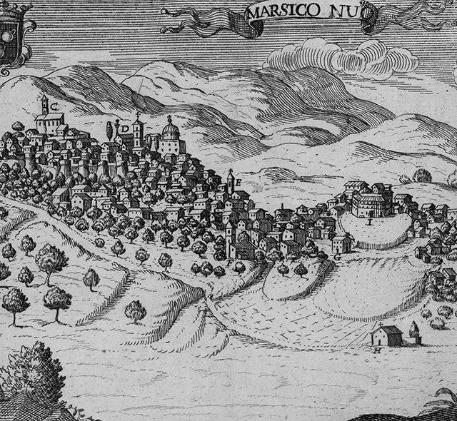 La contea di Marsico nel XVI sec.