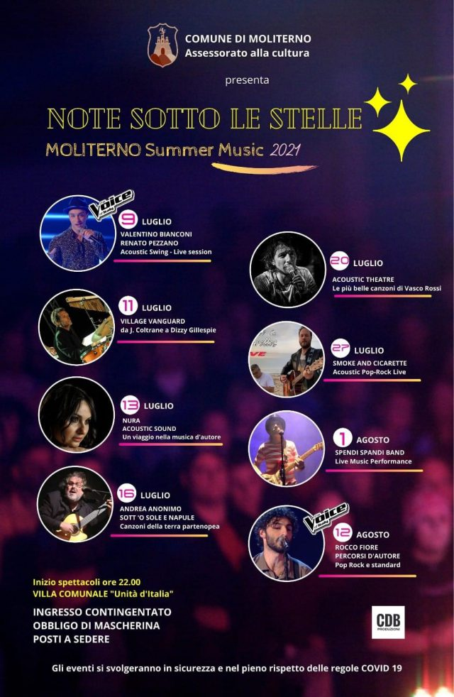 Moliterno Summer Music 2021